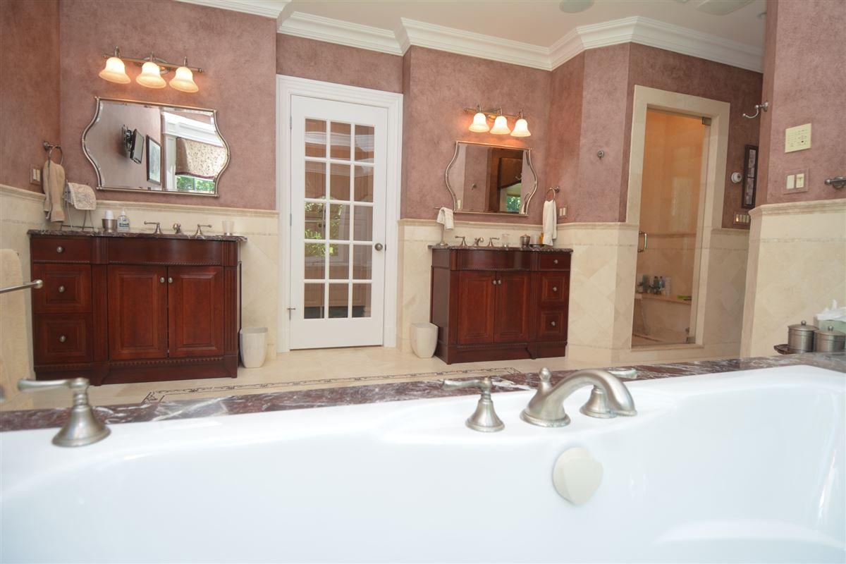 Luxury real estate private estate in exclusive Chestnut Ridge