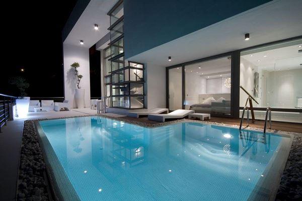 Luxury homes Exclusive avant garde modern property