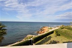 Luxury real estate unique seafront villa in sought after les rotes