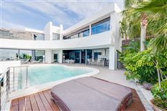 newly constructed contemporary with amazing views luxury real estate