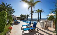 Magnificent villa in exclusive Portichol area luxury real estate