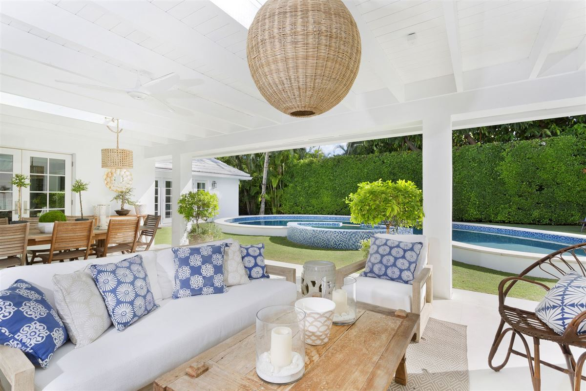 Luxury homes recently renovated modern bermuda style