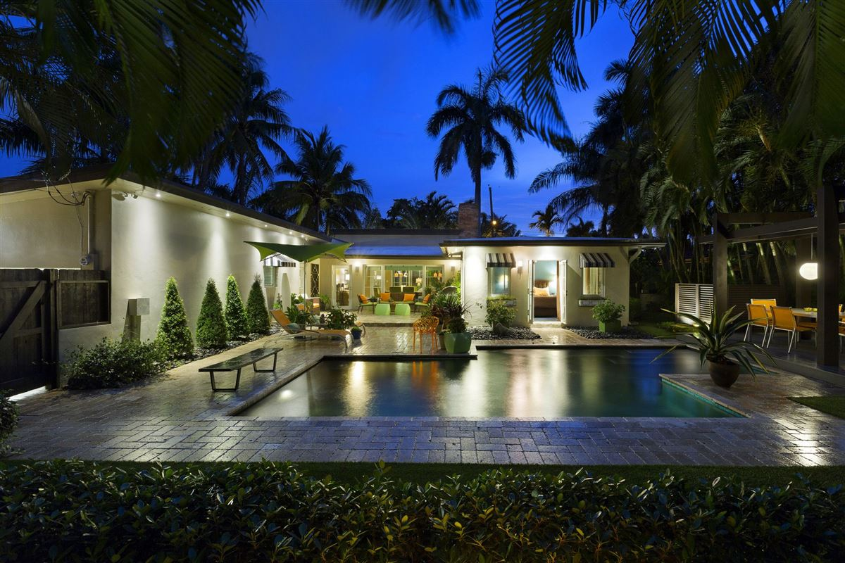 Mid Century Modern Home In Fort Lauderdale Luxury Homes