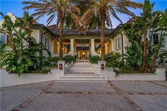 Sublime Vero Beach estate on pristine beach mansions