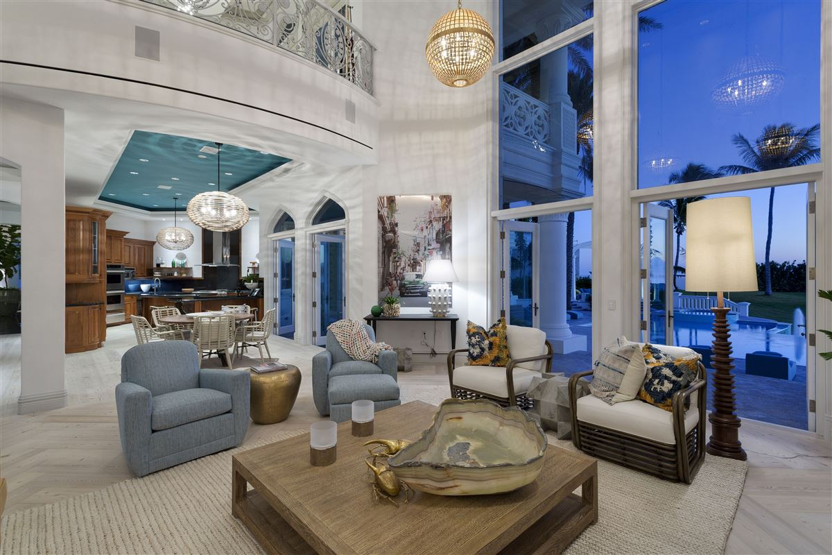 Luxury properties majestic jewel in an oceanfront dreamscape