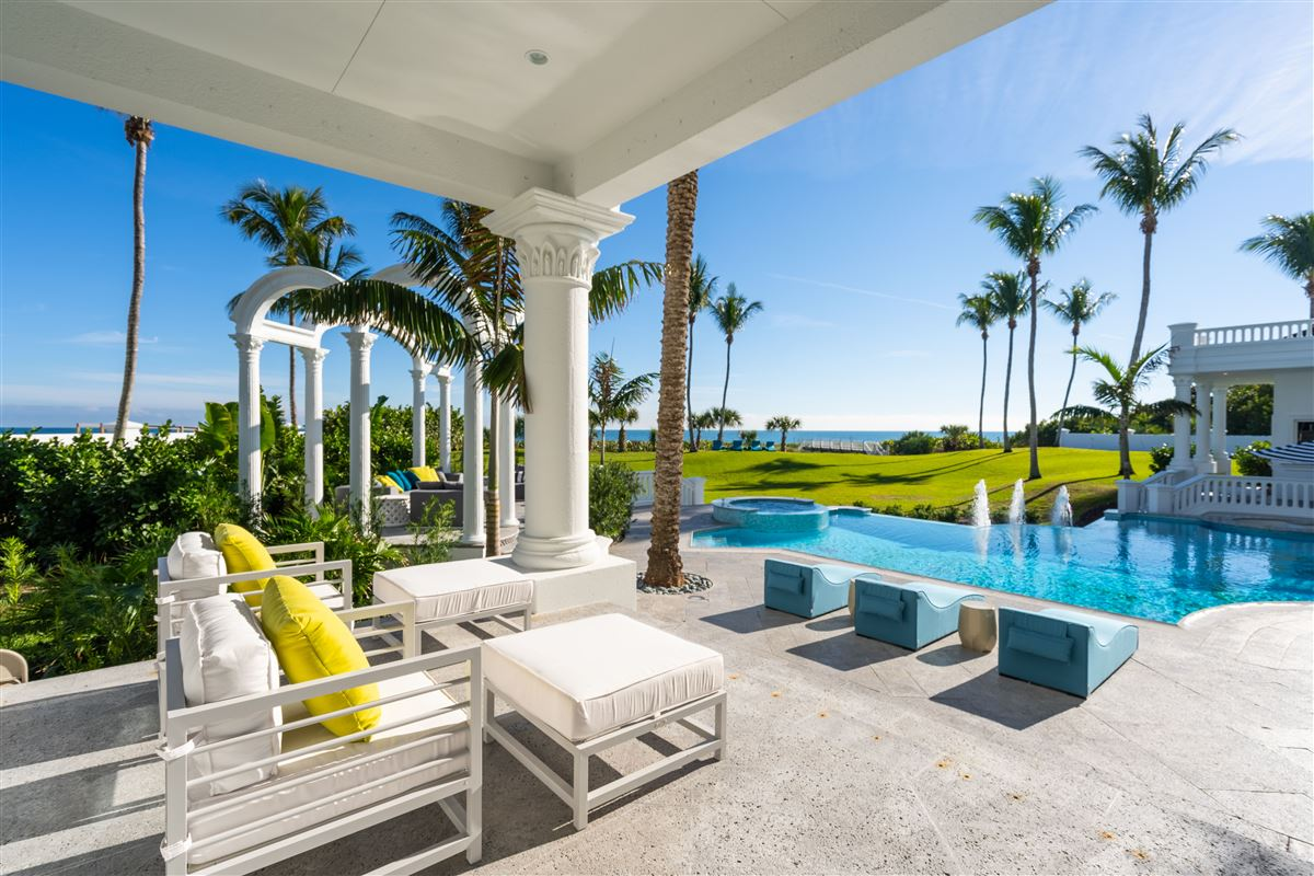 Mansions majestic jewel in an oceanfront dreamscape