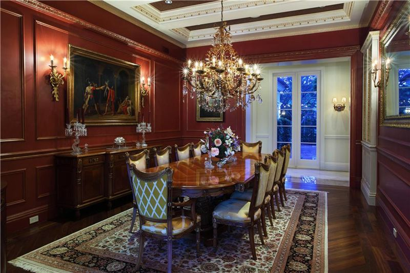 Mansions over ten thousand square feet of luxury