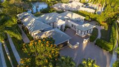 Luxury real estate Custom lakefront estate in the heart of Hawks Landing