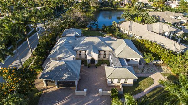 Custom lakefront estate in the heart of Hawks Landing mansions