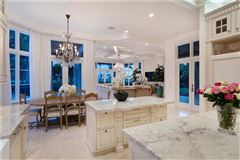 impressive oceanview estate on double lot luxury homes