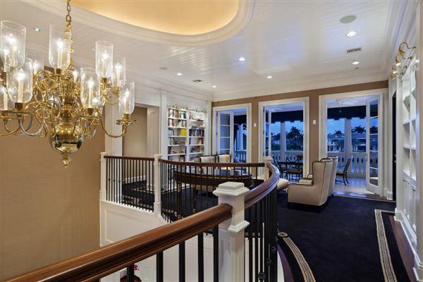 Palm Beach-inspired Georgian Intracoastal Estate  mansions