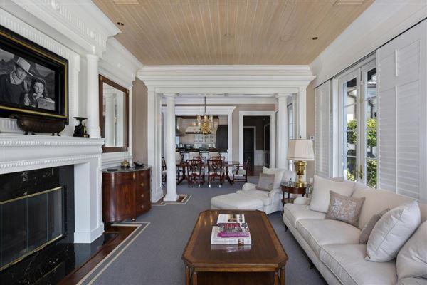 Palm Beach-inspired Georgian Intracoastal Estate  luxury homes