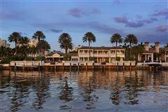 Palm Beach-inspired Georgian Intracoastal Estate  luxury properties
