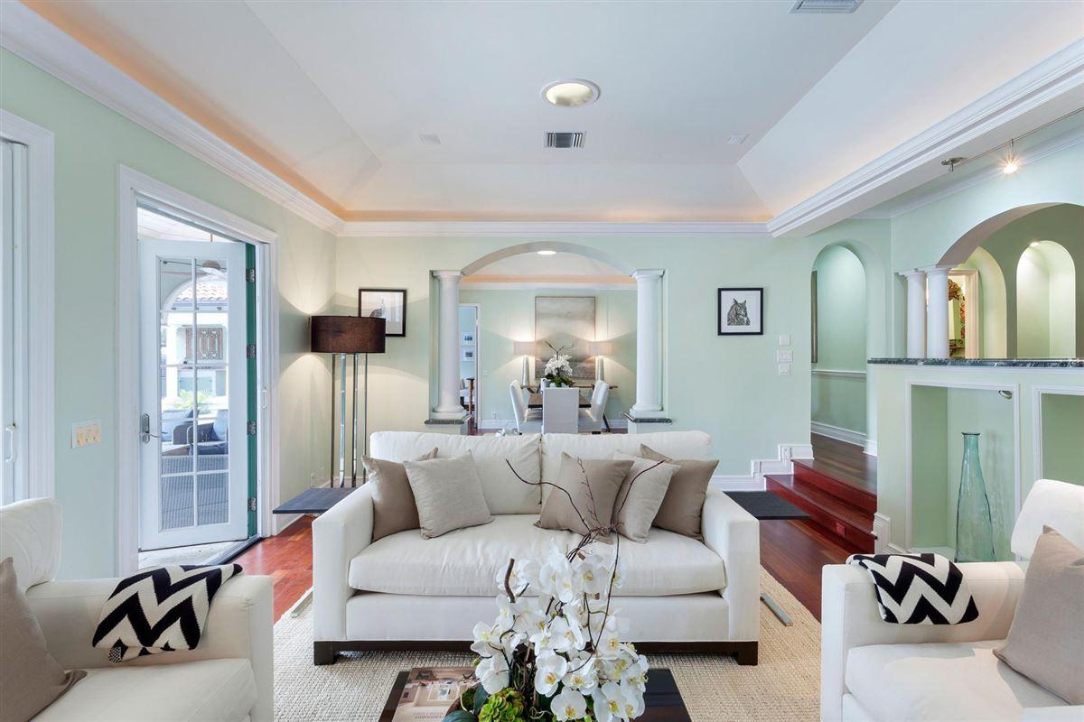 Luxury homes elegant mediterranean-inspired estate