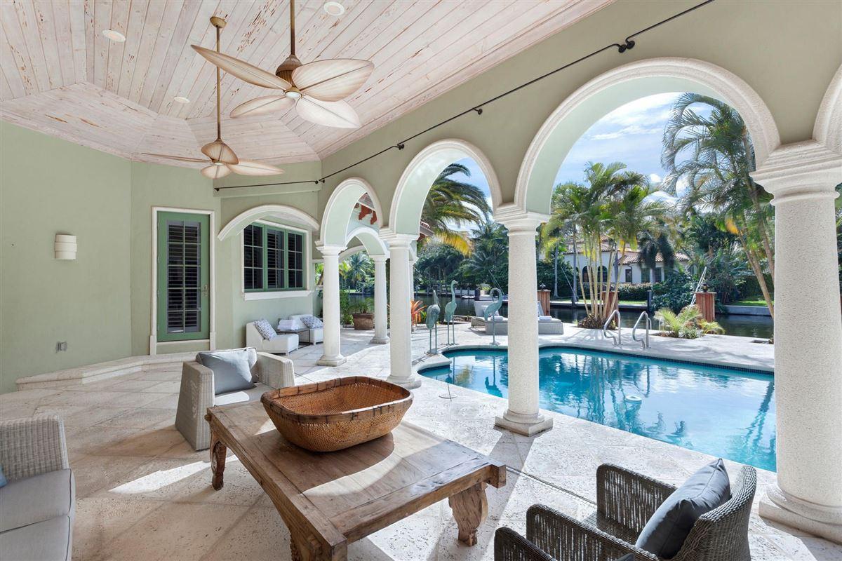 Luxury properties elegant mediterranean-inspired estate