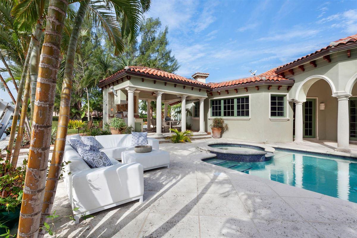 Mansions elegant mediterranean-inspired estate
