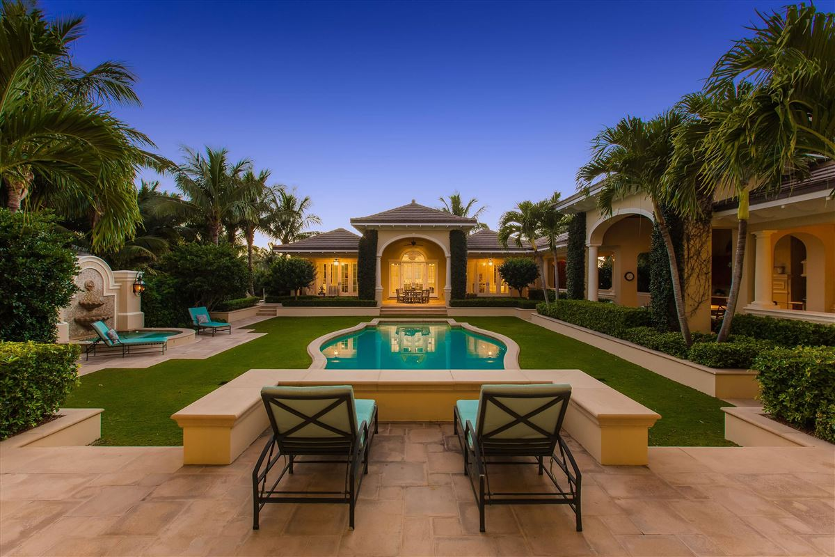 Luxury homes in A private world within a resort paradise