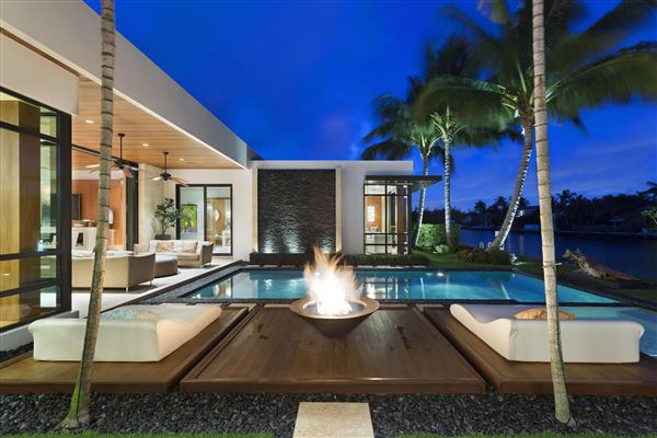 Martini Modern Inspired Boca Raton Estate Florida Luxury