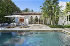 Luxury homes in extraordinary 1922 Mediterranean style oceanfront home