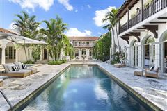 Mansions in extraordinary 1922 Mediterranean style oceanfront home