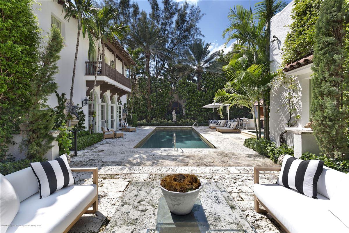 Luxury real estate extraordinary 1922 Mediterranean style oceanfront home
