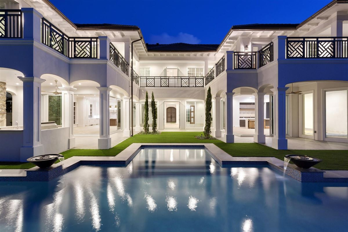 new Royal Palm Grand Canal estate luxury homes