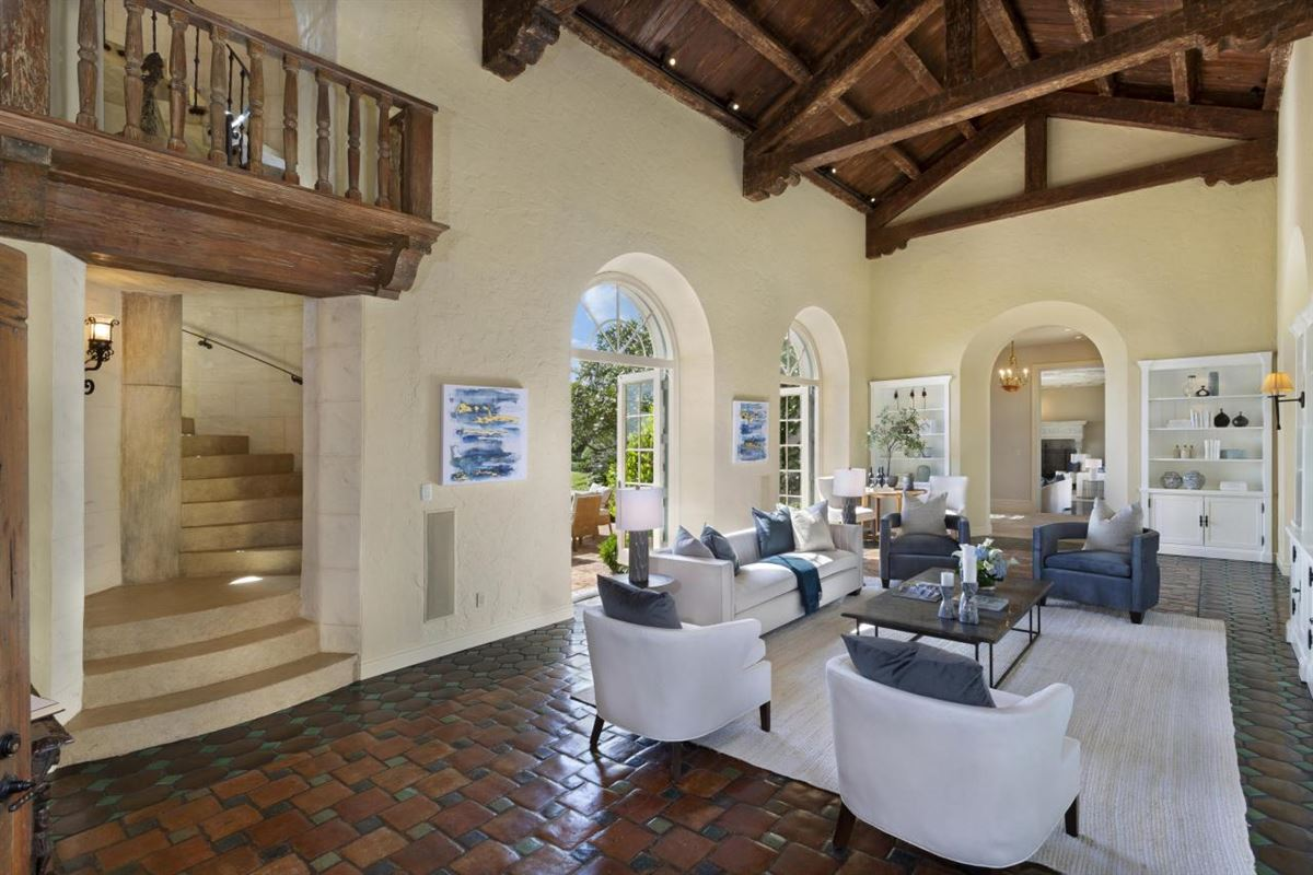 Luxury real estate an extraordinary 1922 Mediterranean style oceanfront home