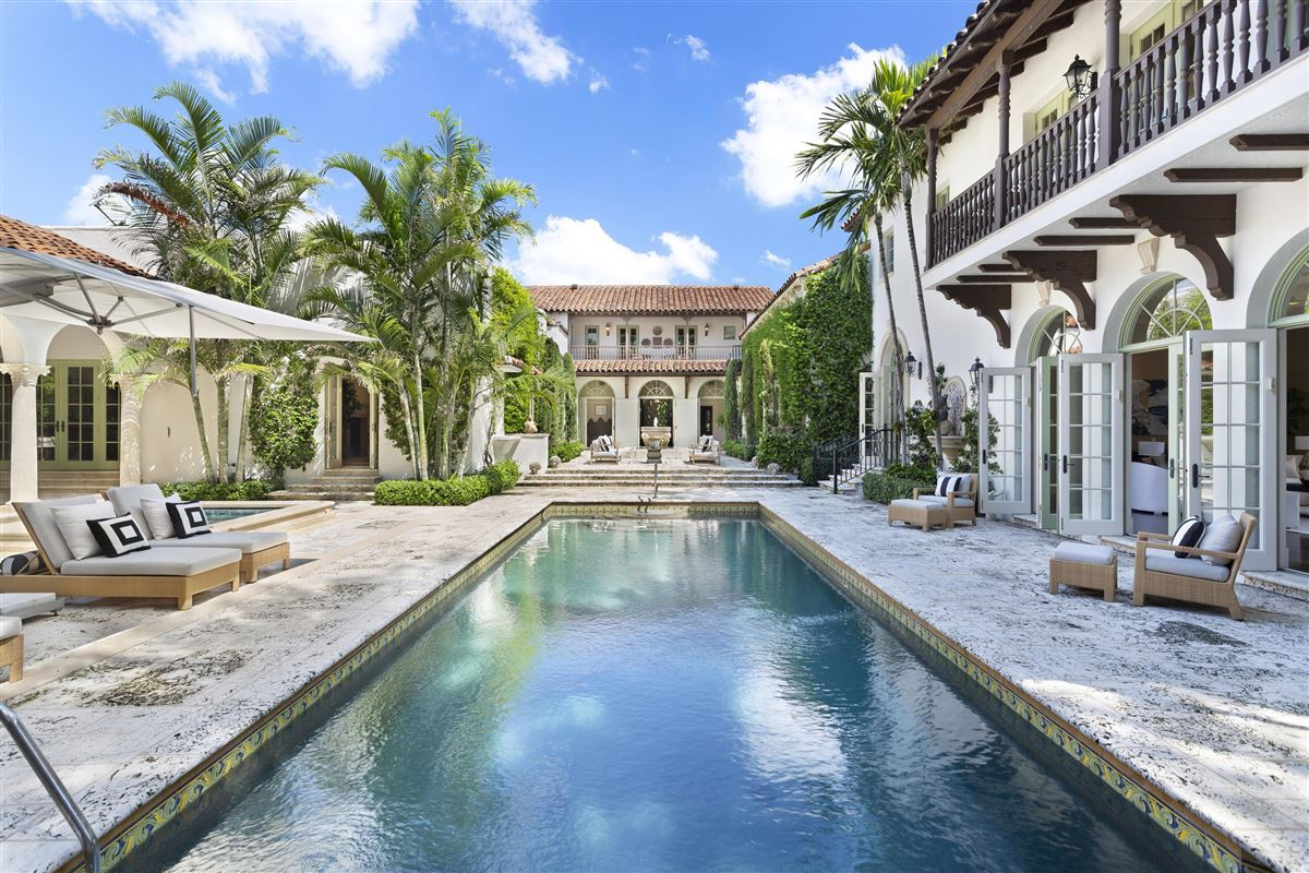 an extraordinary 1922 Mediterranean style oceanfront home luxury homes