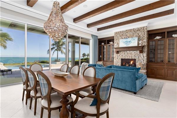 ample ocean views in vero beach luxury homes