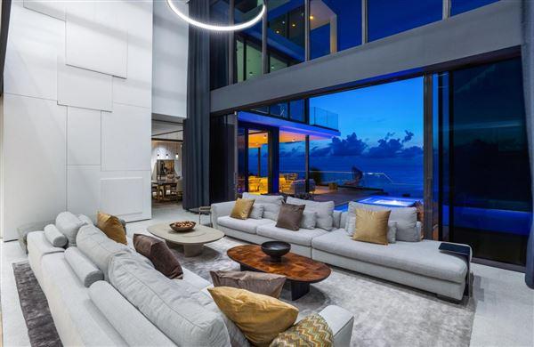An oceanfront estate in highland beach luxury properties