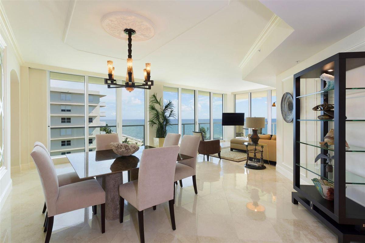 Luxury real estate Spectacular wraparound corner unit