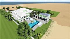 new oceanfront contemporary custom home luxury real estate