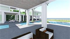Luxury homes in new oceanfront contemporary custom home