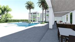 Mansions in new oceanfront contemporary custom home