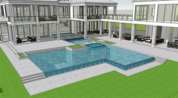 new oceanfront contemporary custom home mansions