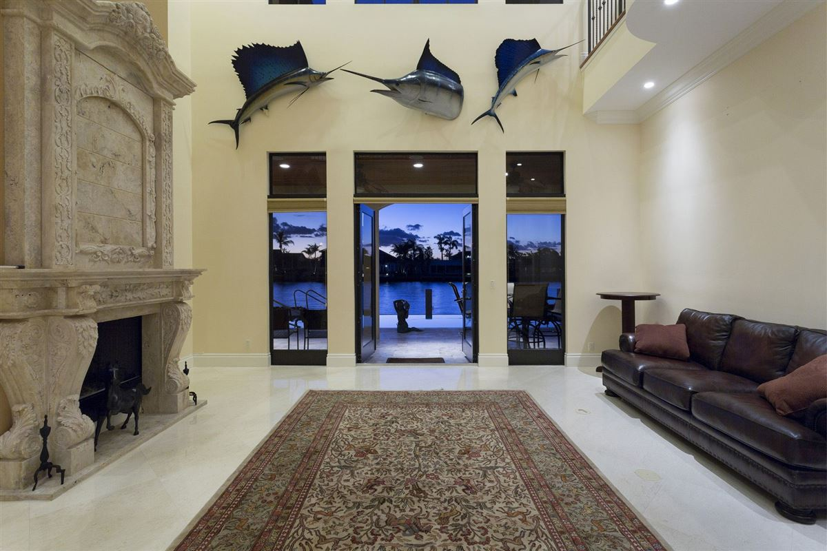 Custom built Tuscan inspired waterfront estate luxury properties