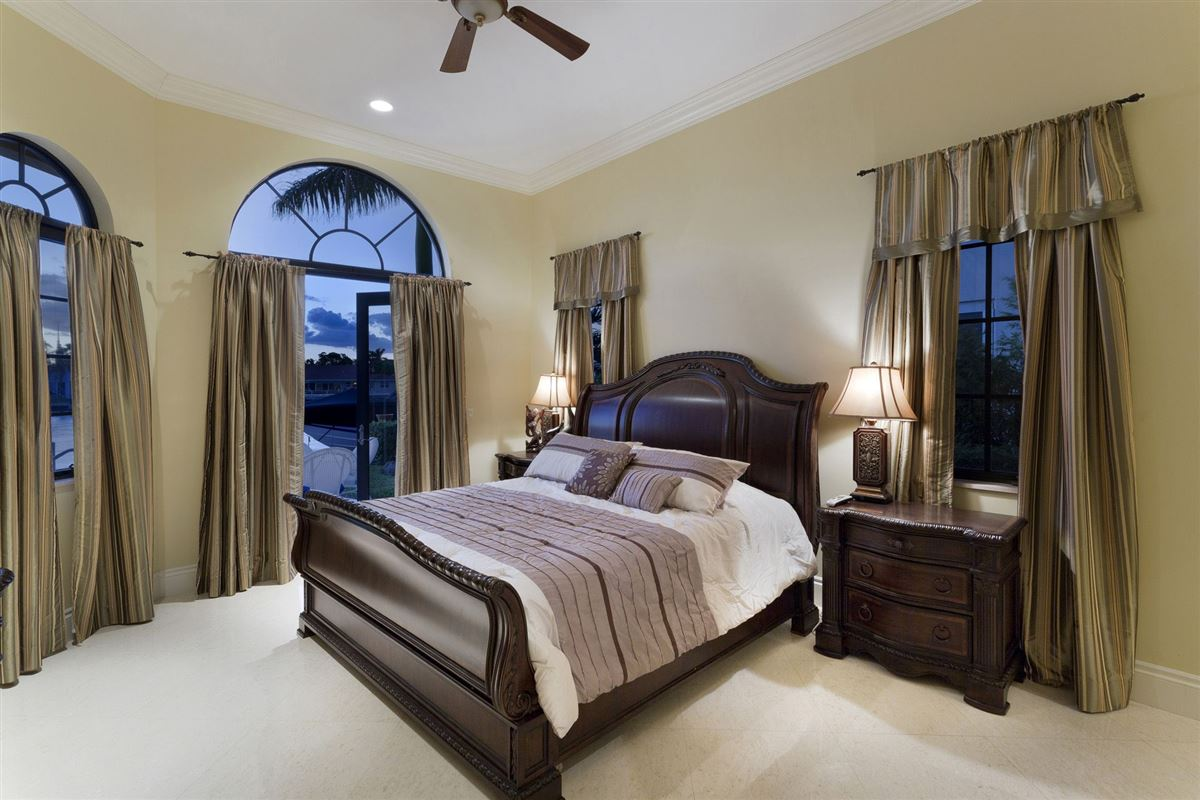 Luxury properties Custom built Tuscan inspired waterfront estate