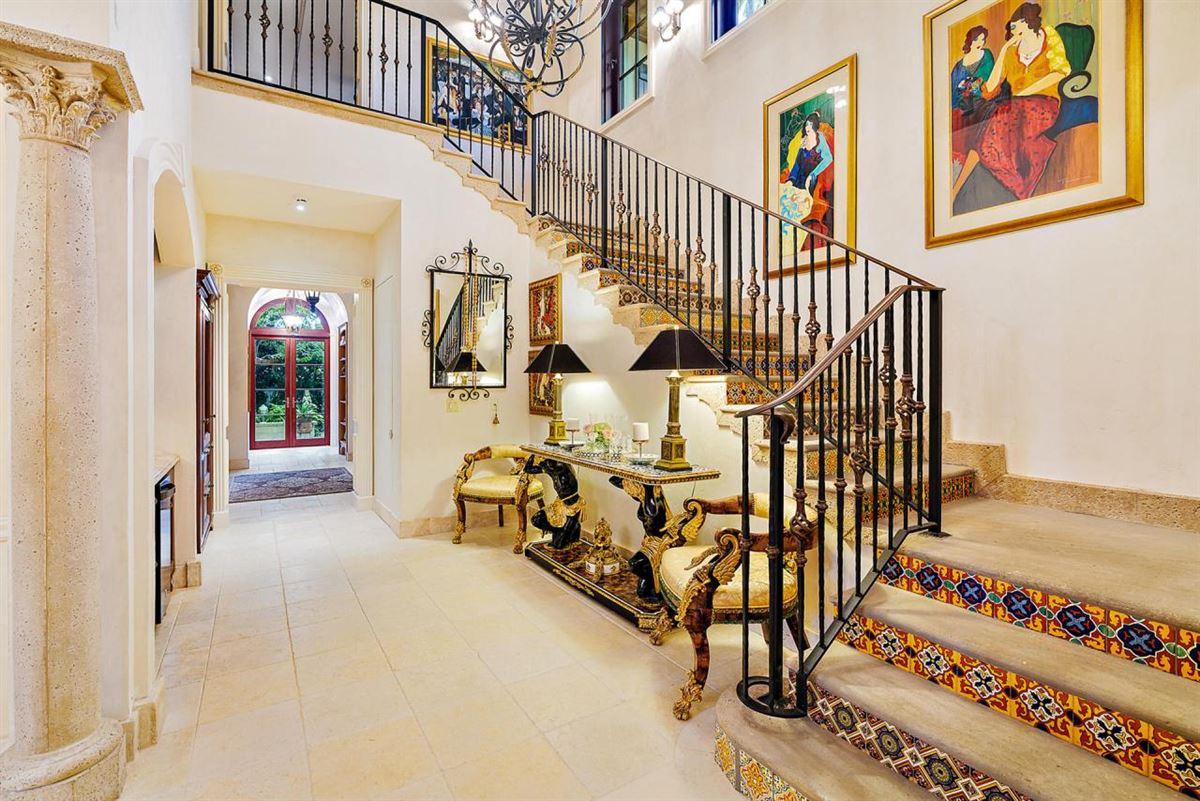 Luxury real estate European villa on almost a half-acre