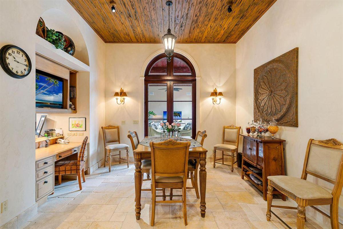 Luxury homes in European villa on almost a half-acre