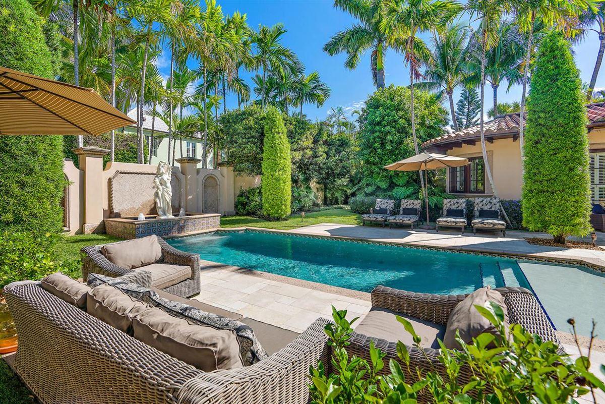 Luxury homes European villa on almost a half-acre