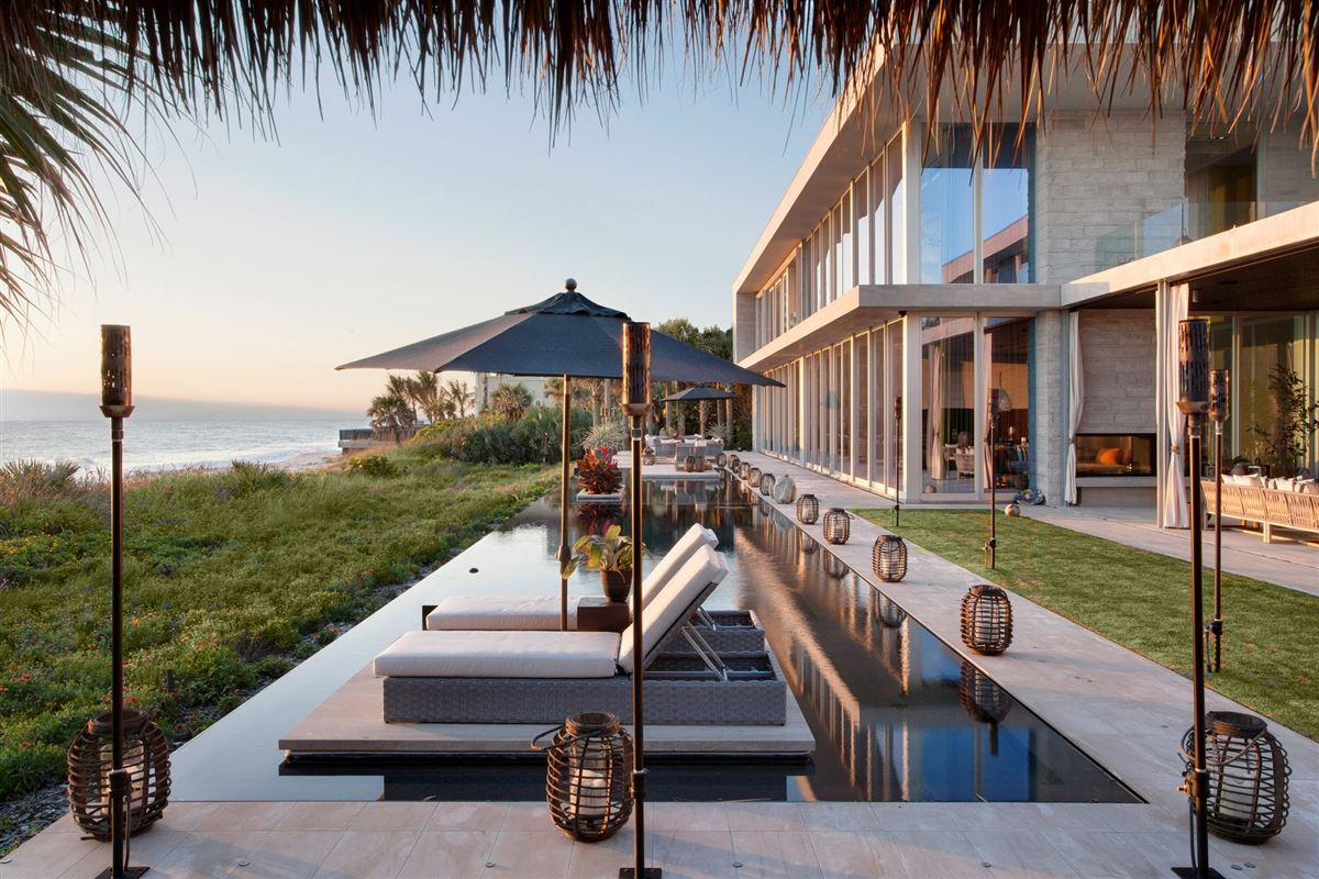 One-of-a-Kind Oceanfront Paradise mansions