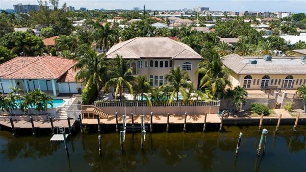 Newer Modern Mediterranean Estate. US $2,995,000 In Fort Lauderdale ...