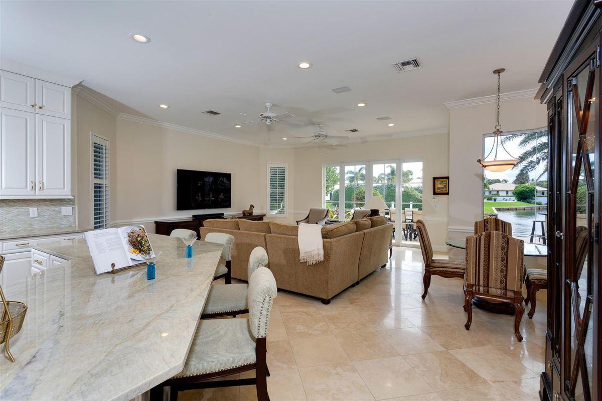 deepwater estate in exclusive Ocean Ridge luxury homes