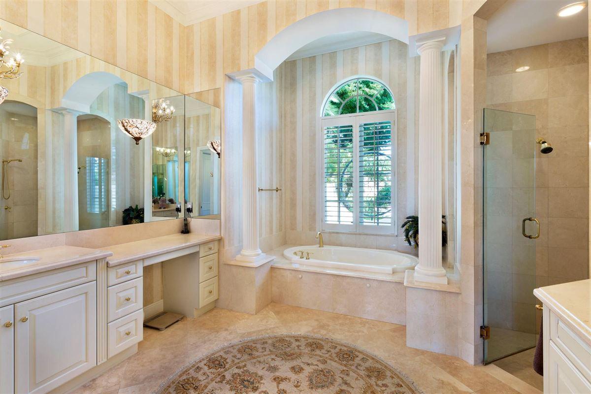 deepwater estate in exclusive Ocean Ridge mansions