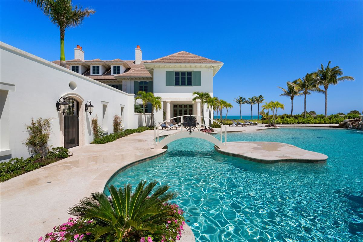 Mansions New Oceanfront Residence in Vero Beach