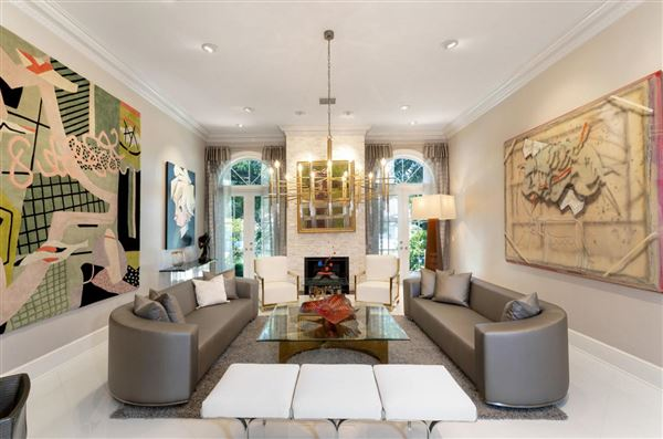 Newly remastered estate on a double lot luxury homes