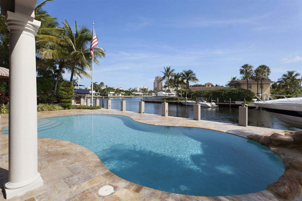 Mansions One home from Intracoastal