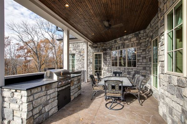 Luxury real estate Smokey Mountain-esque manor plus guest house