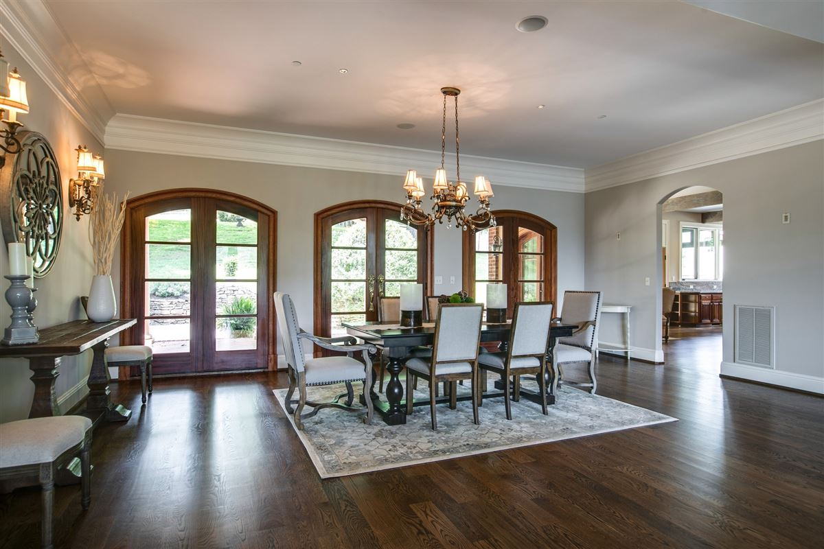 Luxury homes in a storied franklin property