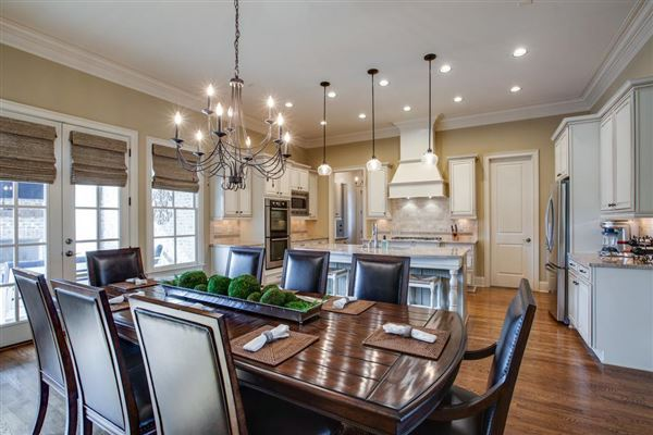 Luxury real estate a Custom single level home in college grove